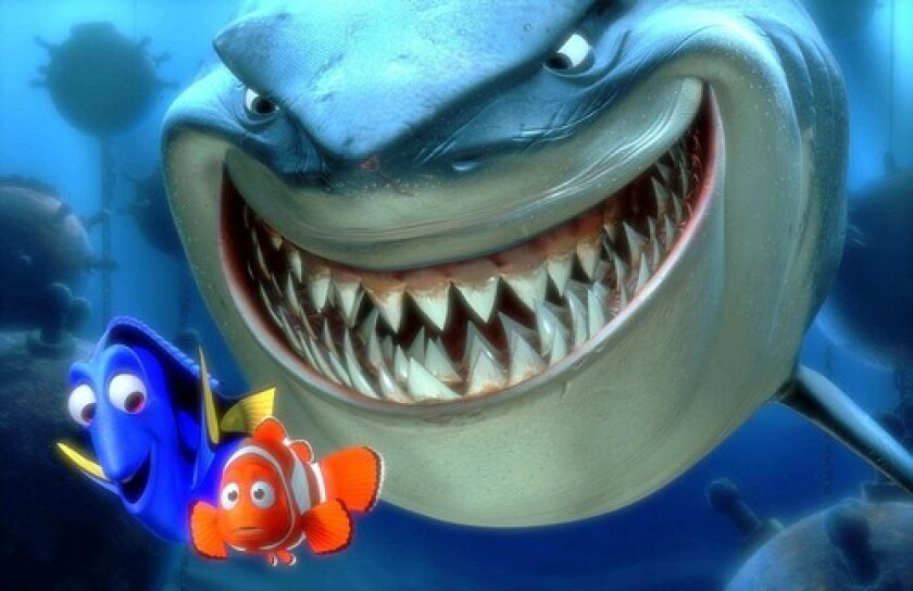 """A scene from the movie """"Finding Nemo."""""""