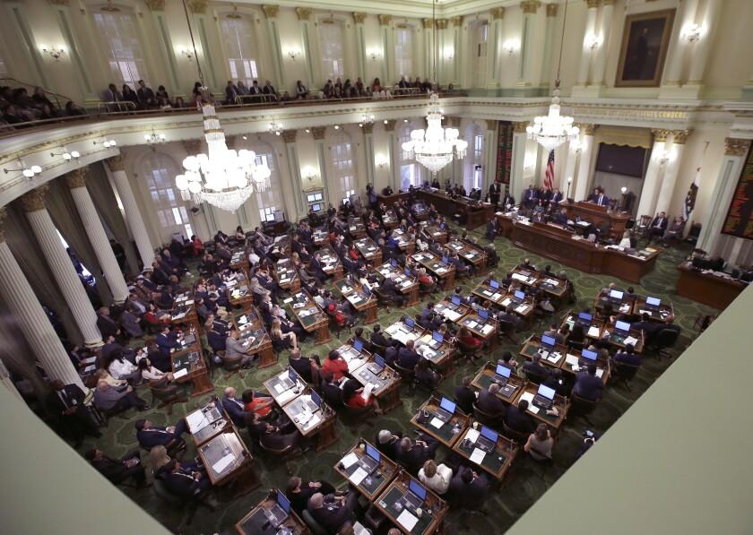 California-Legislature Returns