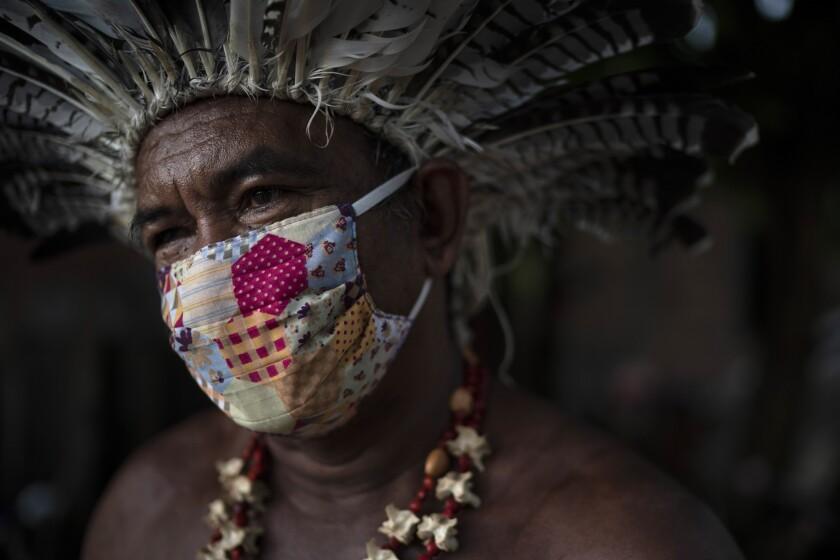 El coronavirus llega a las tribus amazónicas de Brasil - San Diego ...
