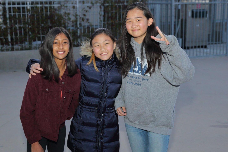 Nyesha Sinha, Michelle Seo, Emily Zhang