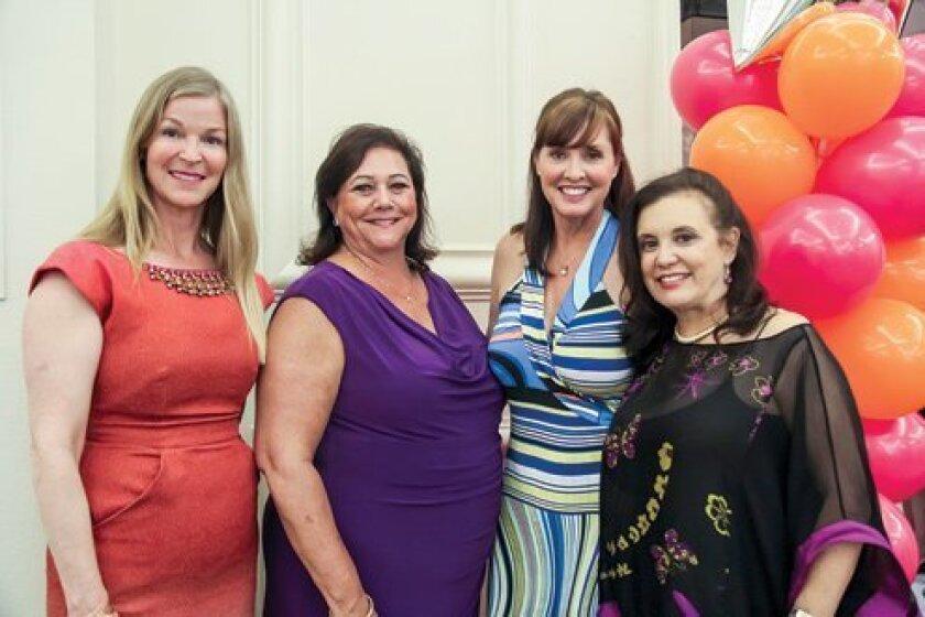 Co-Chairs Elizabeth Oliver, Marla Black, Anita Norton and Doreen Schonbrun. Photo by Stephanie Pillar