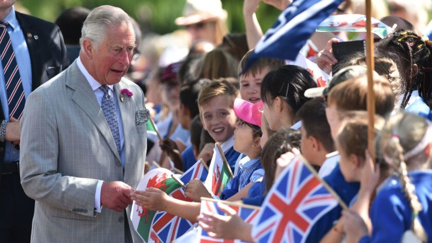 Britain's Prince Charles and Wales mark 50 years together