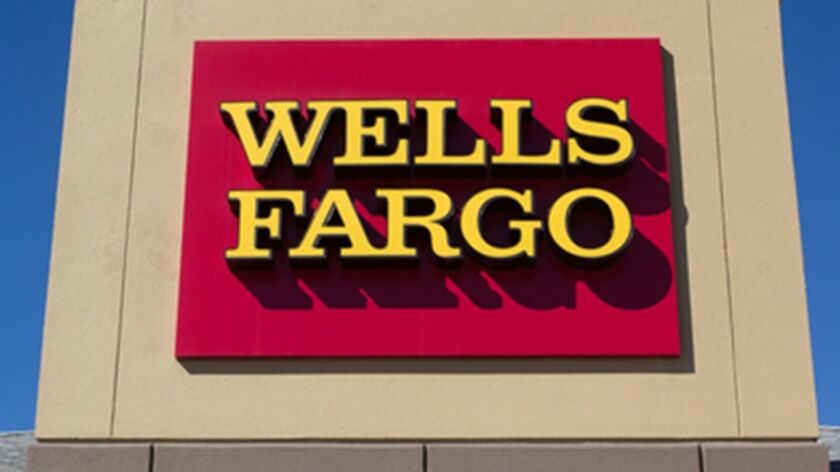 Wells Fargo Bank (Dreamstime/TNS) ** OUTS - ELSENT, FPG, TCN - OUTS **
