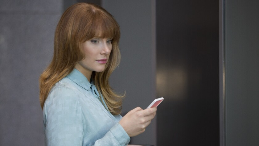 """This image released by Netflix shows Bryce Dallas Howard in """"Black Mirror."""