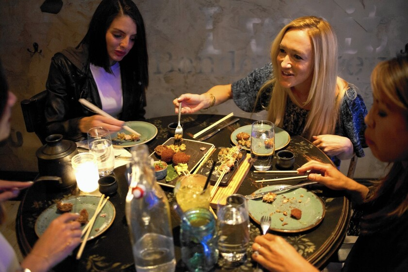 Food at Little Sister in Manhattan Beach spans the Asian continent.