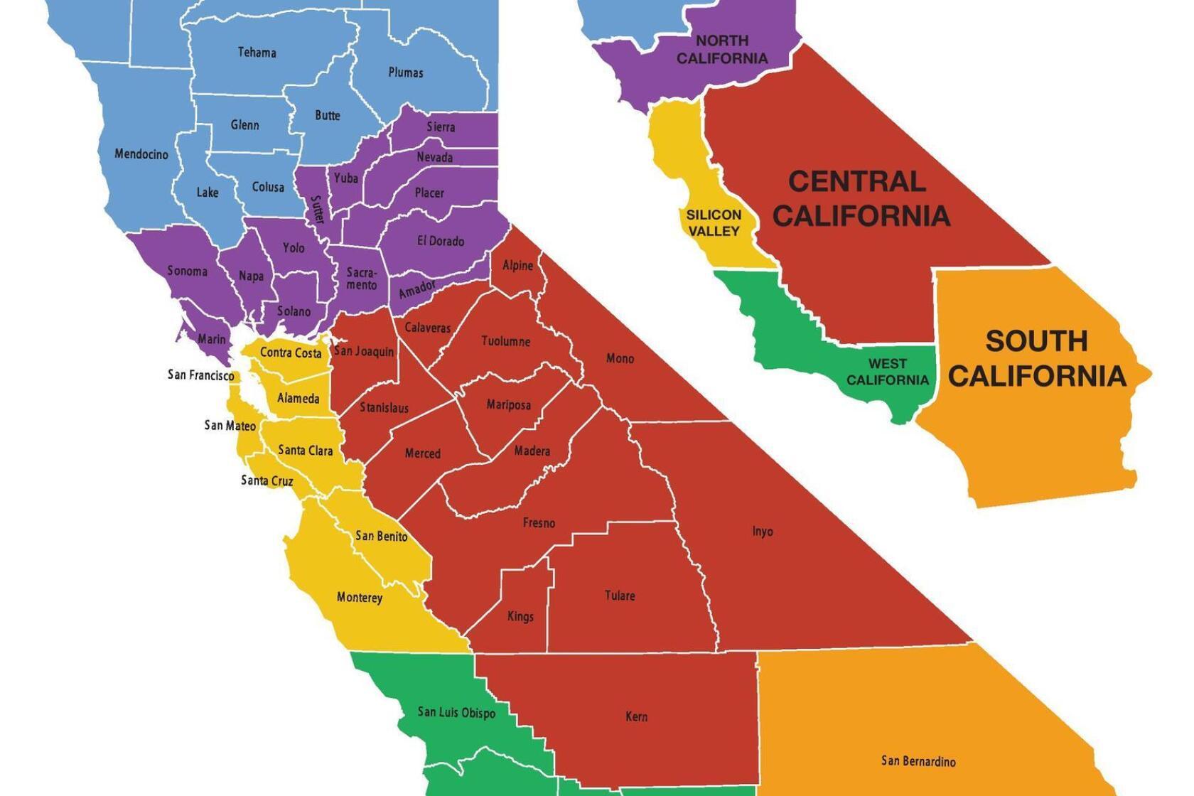 Advocates Of Splitting California Into Six States Gathering