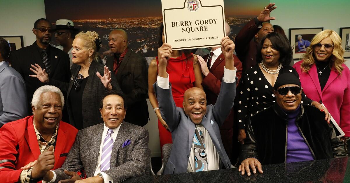 Hollywood διασταύρωση είναι γνωστή για την Motown Records ιδρυτής Μπέρι Γκόρντι
