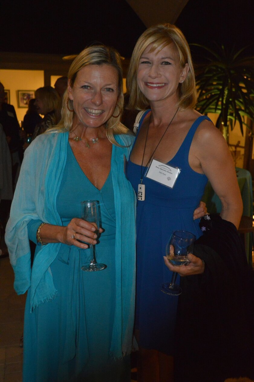 Carol Doty and Debbie Myers