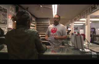 Inside a gun shop on the day of the shootings