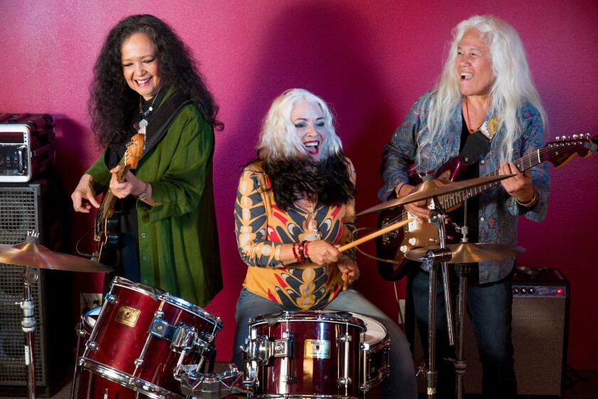 Rock band Fanny, composed of all-women Filipino Americans in 1960s-70s Sacramento.