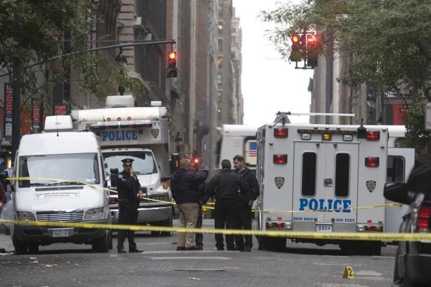 Los cuerpos sin vida de cuatro personas fueron hallados hoy en una vivienda del norte del estado de Nueva York, en un caso que las autoridades están manejando como un homicidio múltiple, informaron fuentes oficiales. EFE/ARCHIVO