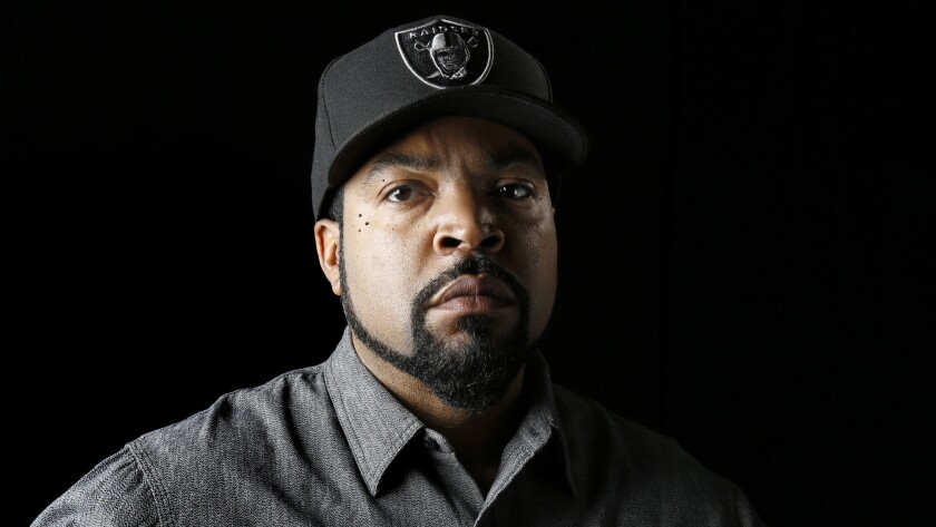 Los Angeles rapper Ice Cube has faced backlash for agreeing to work with the Trump administration.