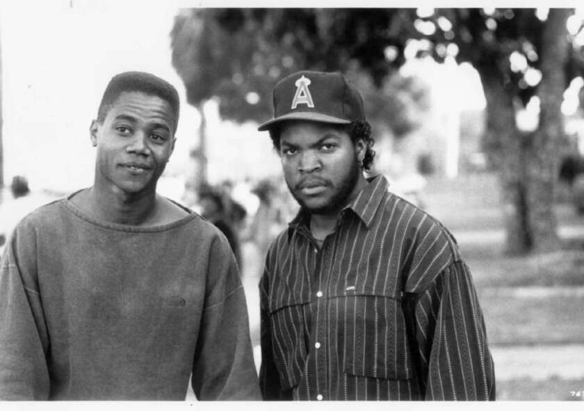 """The African American Film Critics Assn. will honor the 25th anniversary of John Singleton's """"Boyz N the Hood,"""" starring Cuba Gooding Jr. and Ice Cube, at the association's annual award ceremony Feb. 10."""