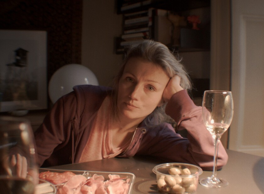 Aneta Piotrowska in a scene from 'My Friend the Polish Girl'