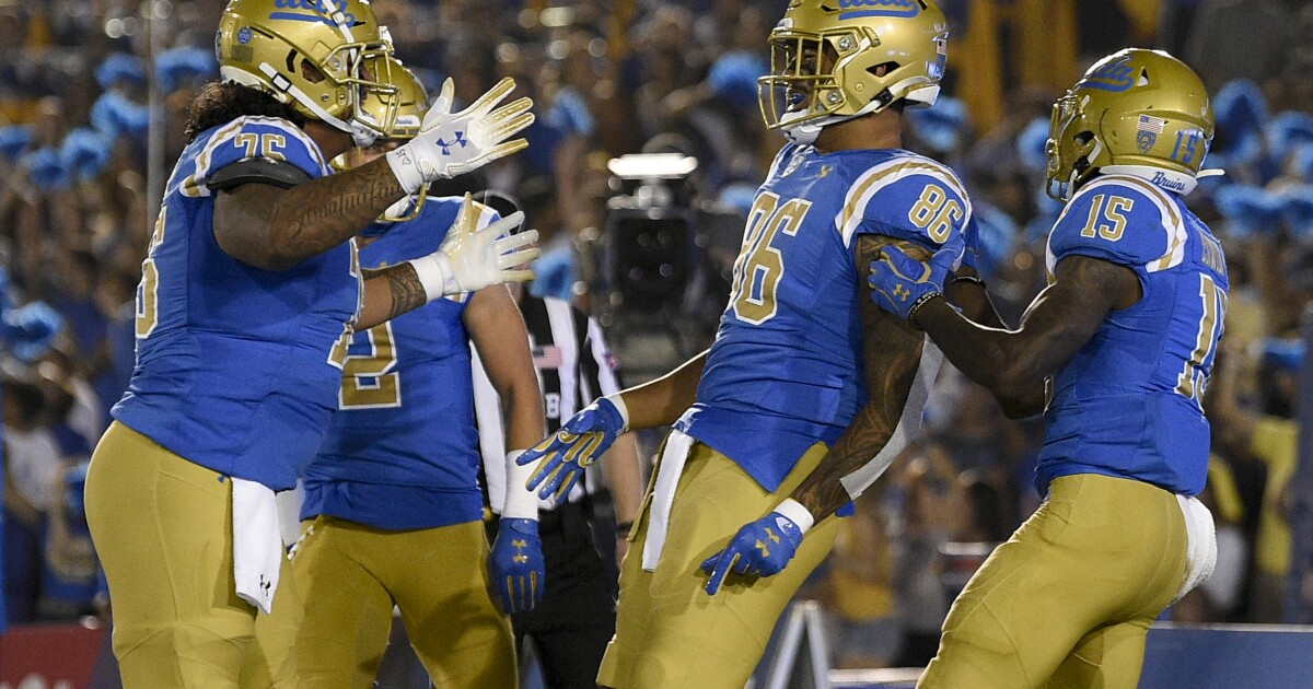 UCLA's biggest game, for now, is showdown with Utah on Saturday