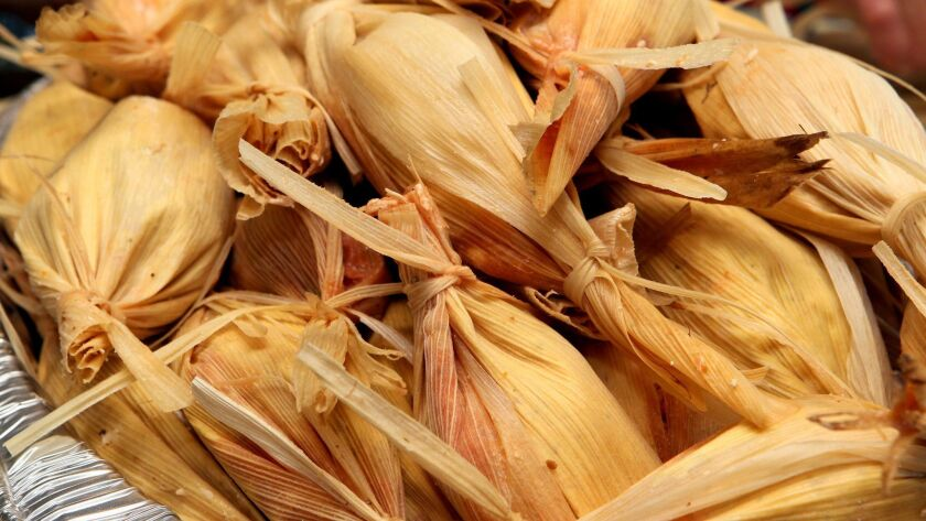 A variety of tamales will be featured at the Nov. 3 Escondido Tamale Festival.