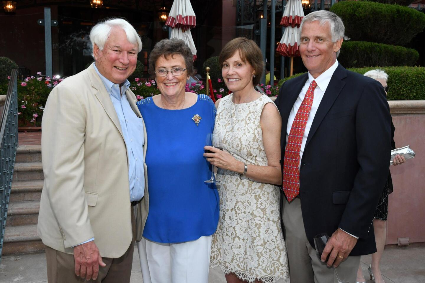 Paul and Cathy Schroeder, Jan and Larry Duitsman