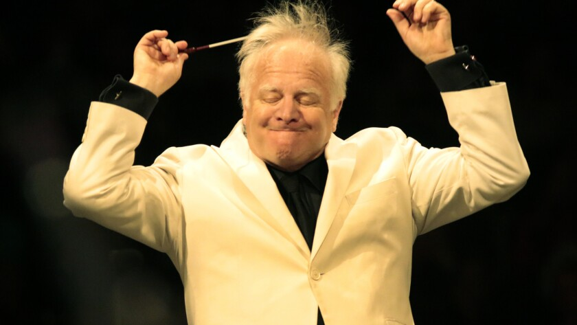 Leonard Slatkin, still with us despite what the Emmy telecast would have us believe.
