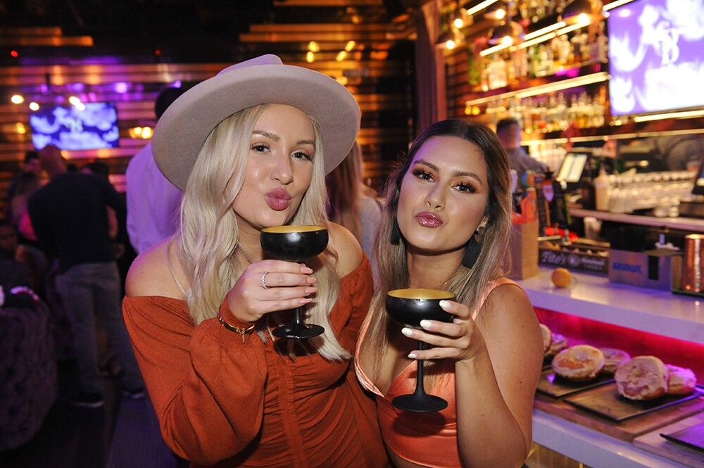 Guests at Pumpkin Spice Girls embraced their basic side with pumpkin spice cocktails, a pumpkin patch photo op and more at Side Bar on Wednesday, Oct. 16, 2019.