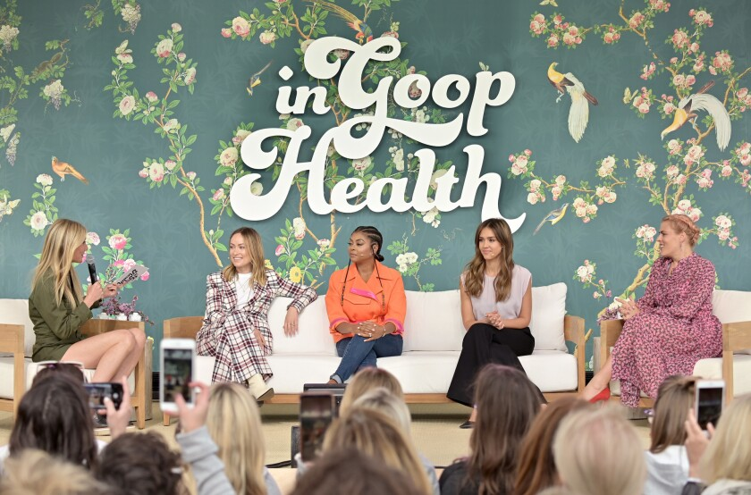 In goop Health Summit Los Angeles 2019
