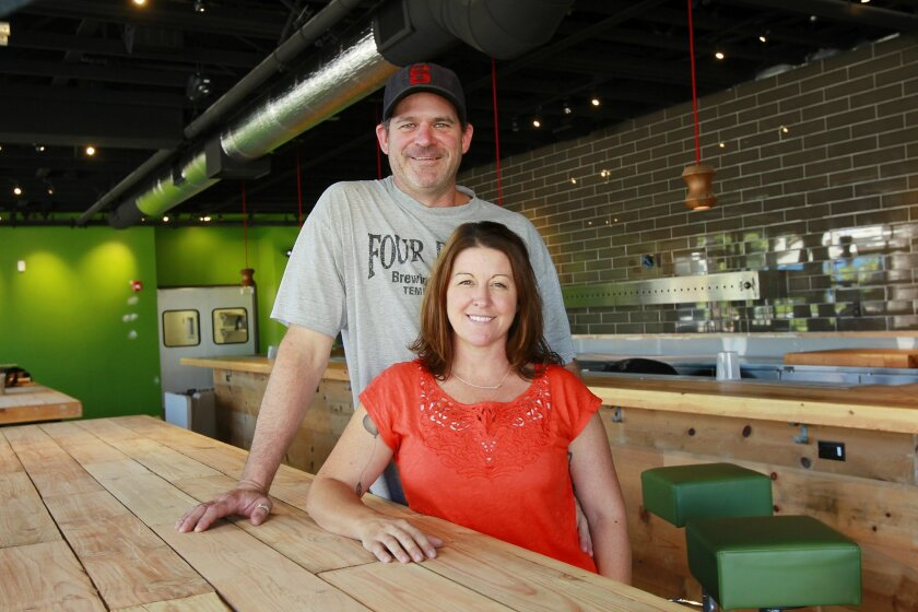 Jeff and Dande Bagby are opening a 8,500-square-foot space brewery called Bagby Beer Company in Oceanside.