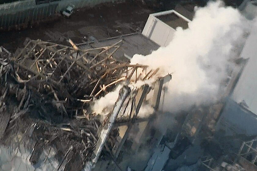 Fukushimi disaster in 2011
