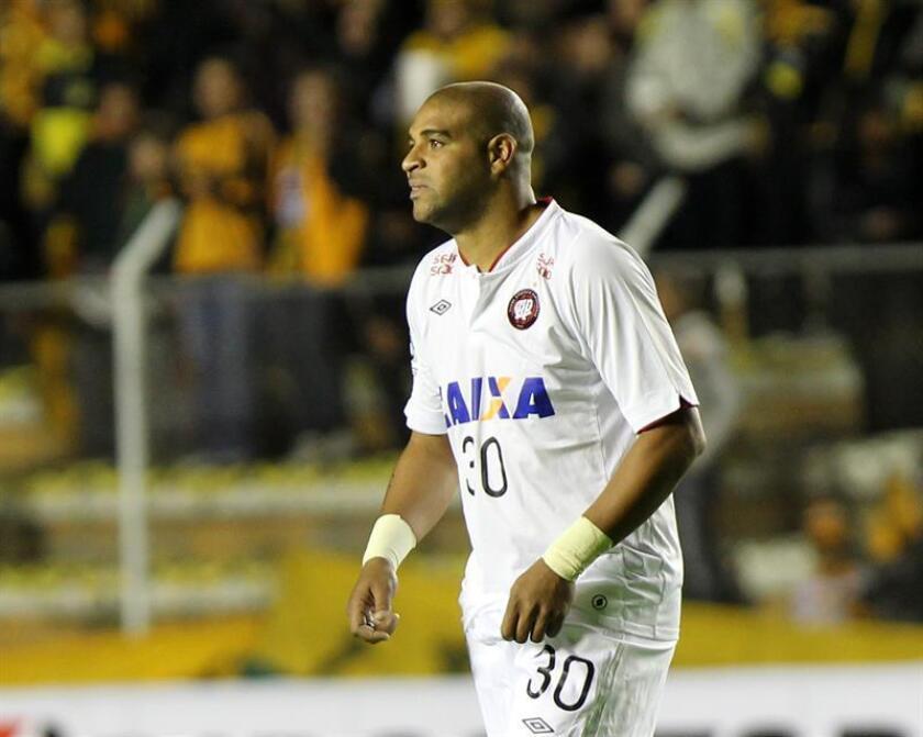 En la imagen, el exdelantero brasileño Adriano Leite Ribeiro. EFE/Archivo