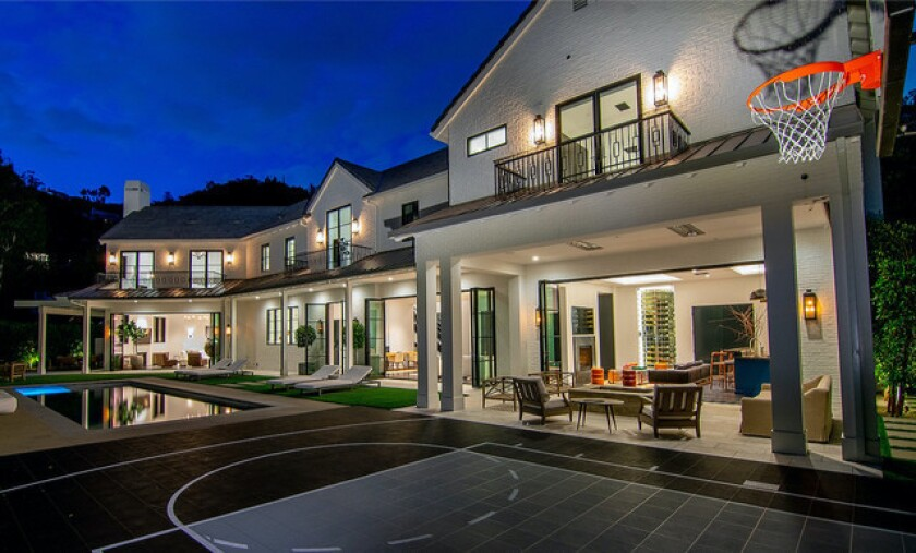 Chandler Parsons' Bel Air mansion