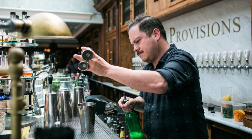 Renowned mixologist, Erick Castro, will instruct cocktail classes in a private area of Polite Provisions. Brogen Jessup Photo User Upload Caption: Erick Castro, bartender and proprietor of Polite Provisions cocktail bar in North Park, which received a 2016 James Beard Award nomination for Outstanding Bar Program.