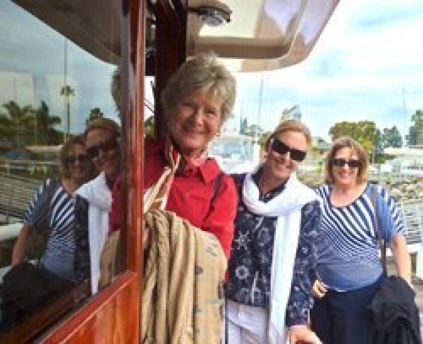 Judy Moore, Healy Henderson and Mary Alice Hendricks