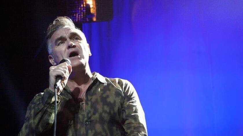 Morrissey performs at Balboa Theater (/ Lynette Aquilina)
