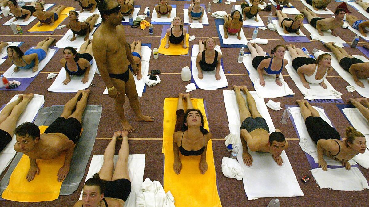 Yoga Guru Bikram Choudhury Must Pay 6 4 Million In Punitive Damages Jury Decides Los Angeles Times
