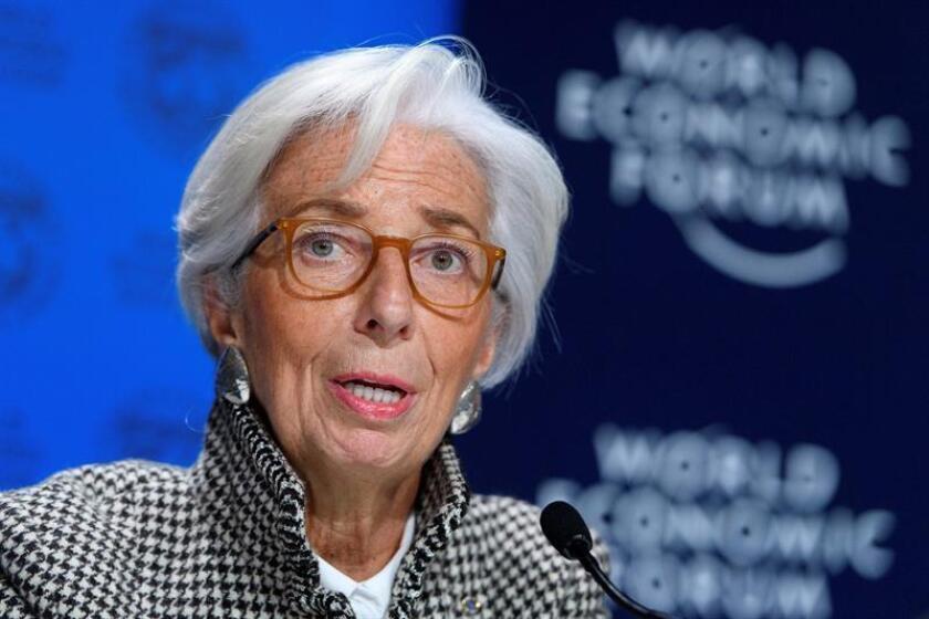 Fotografía de la directora del Fondo Monetario INternacional, Christine Lagarde. EFE/ EPA/Archivo