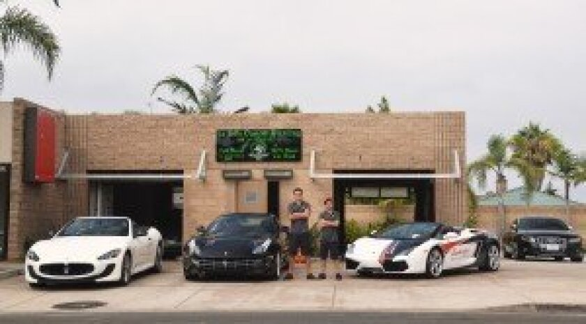 La Jolla Custom Detailing is open 9 a.m. to 6 p.m. Monday-Friday.