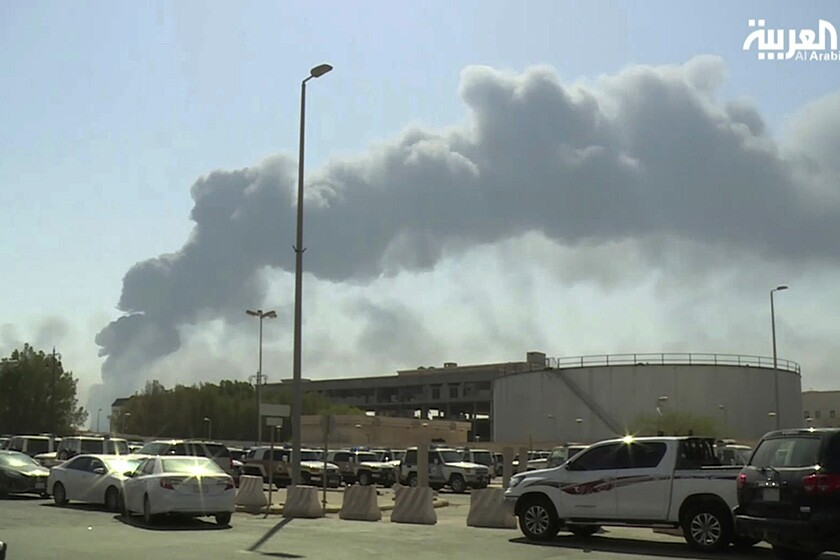 Oil facility attacked