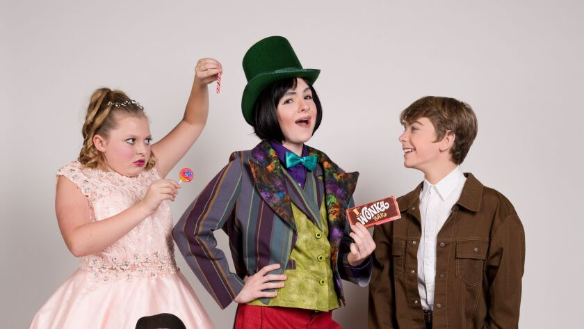 Cast of J*Company's 'Willy Wonka and the Chocolate Factory'