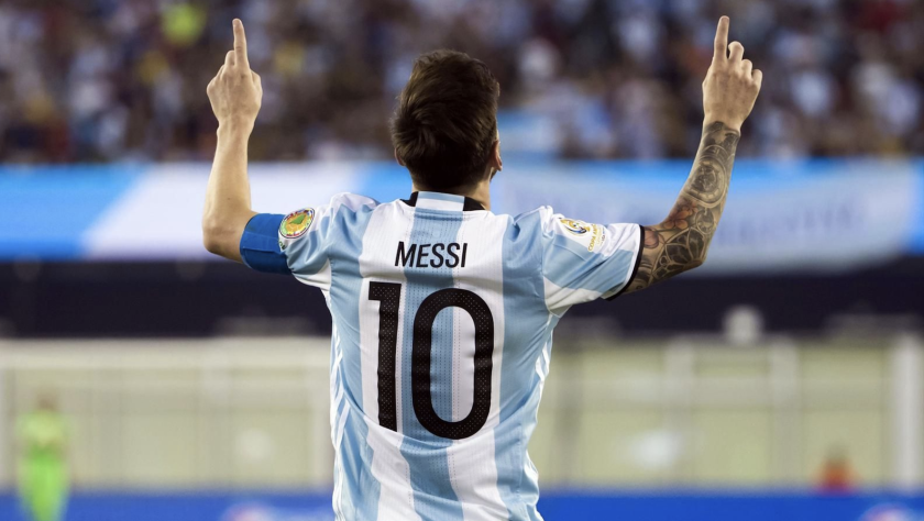 Lionel Messi, figura del seleccionado argentino.