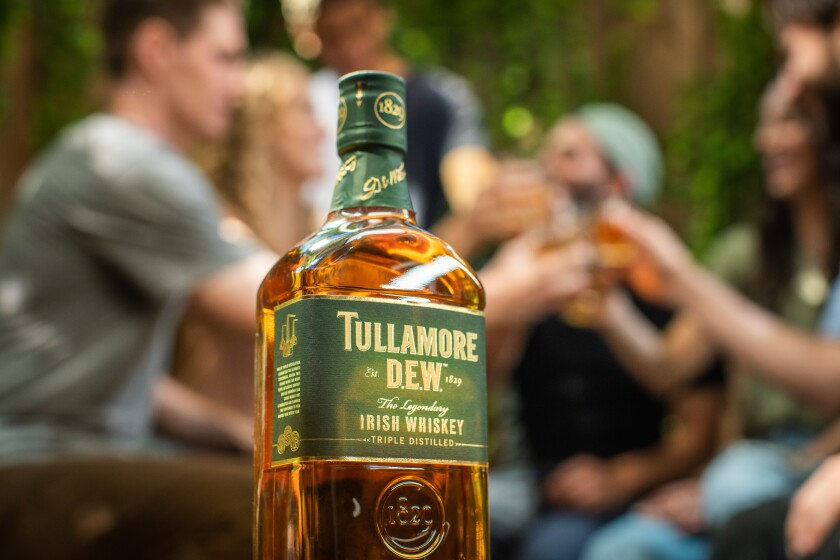 Bottle of Tullamore D.E.W.