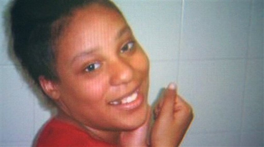 This undated file photo provided by WFAA-TV News shows Jakadrien Lorece Turner, a Texas teen who ran away more than a year ago, her family said. Immigration officials say they're investigating the circumstances under which Turner was deported to Colombia after providing a false identity. She was located in Bogota by Dallas police, with help from Colombian and U.S. officials. (AP Photo/Courtesy of WFAA-TV)