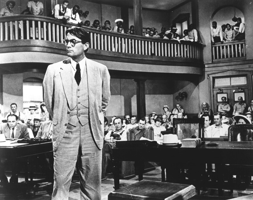 Perspective: Atticus Finch a racist? There goes the ideal
