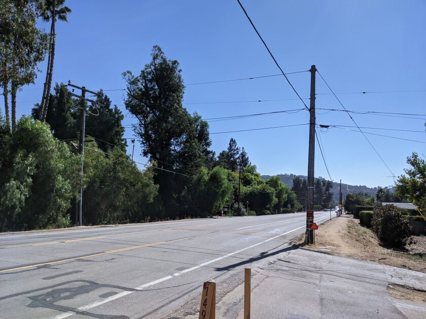 The Espola Road project will move utility lines underground.