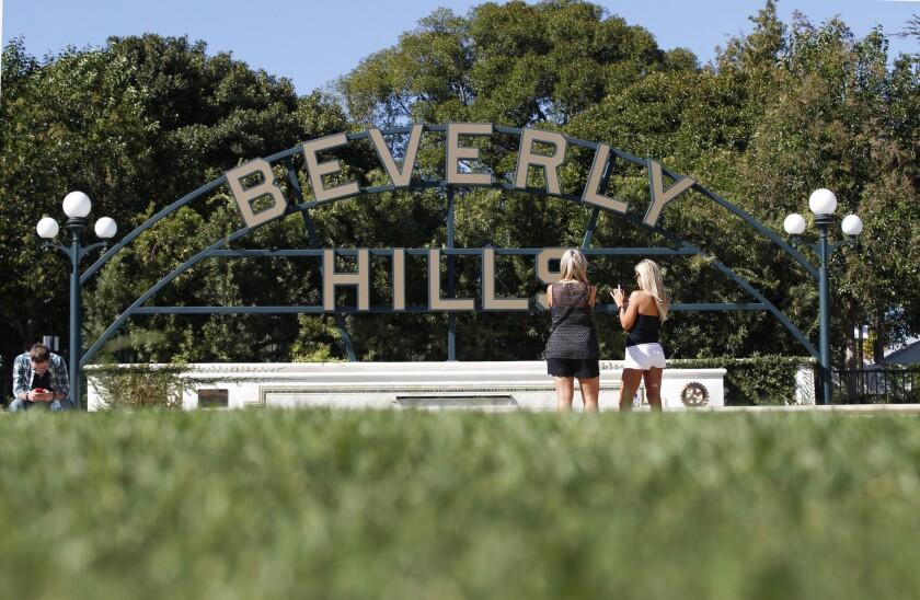 Dead woman in Beverly Hills