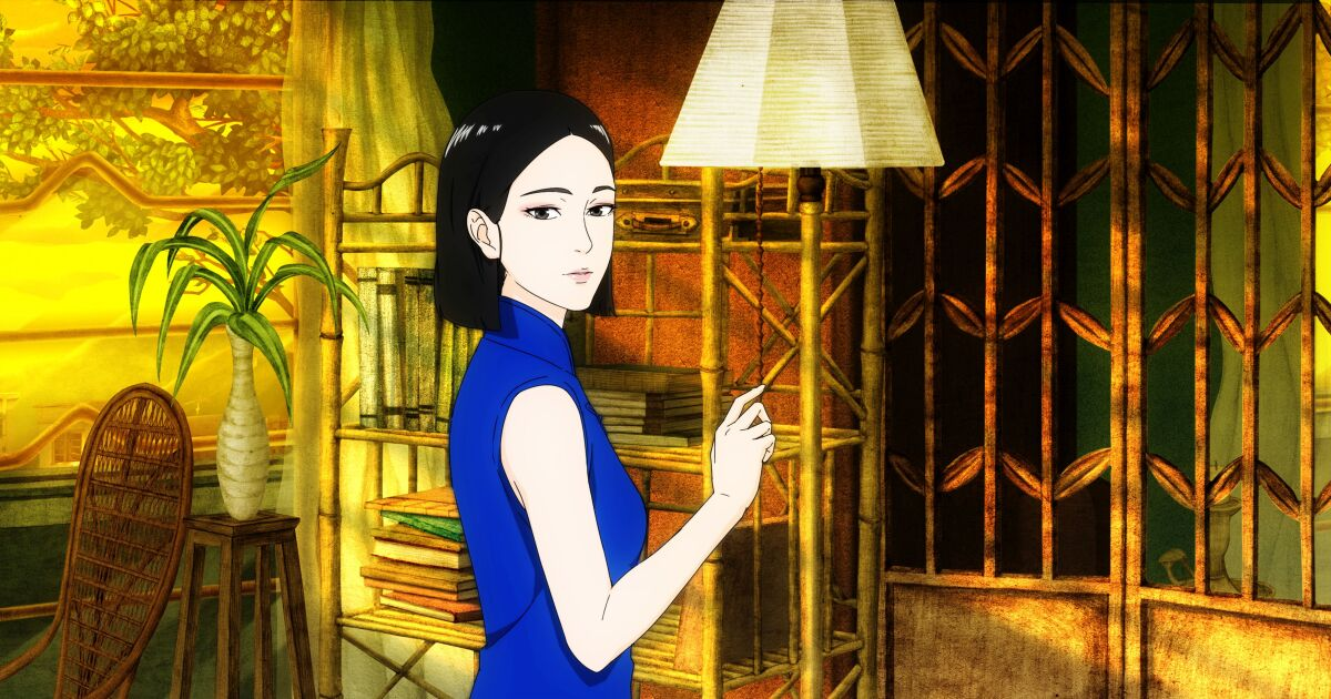 Review: Lose yourself in the adult animation pleasures of 'No. 7 Cherry Lane'