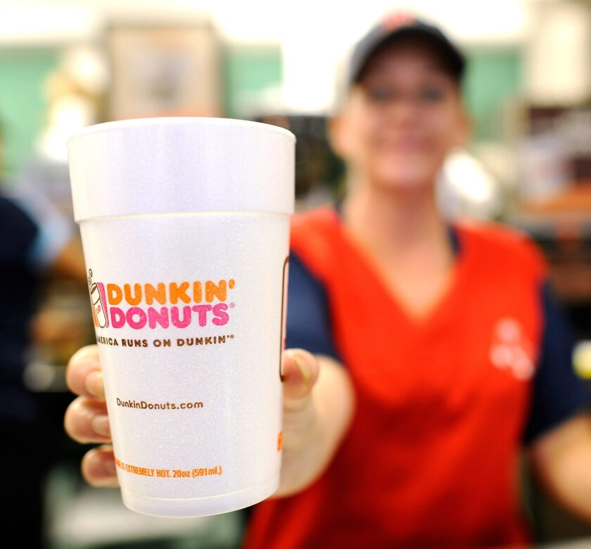 feb860e81aa Dunkin' Donuts opens first Southern California shop in Santa Monica ...