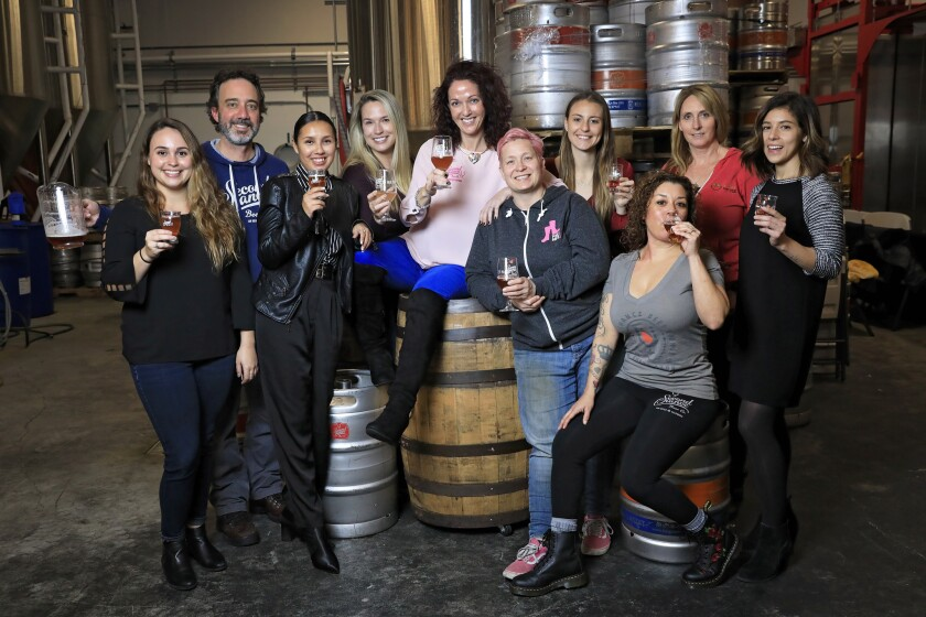 International Women's Collaboration Brew Day