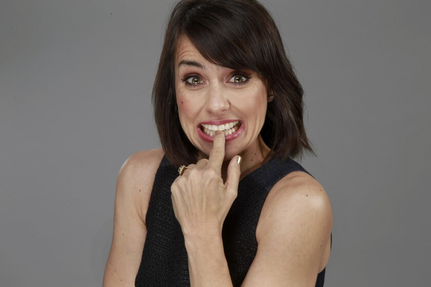 "Constance Zimmer stars as Quinn on Lifetime's ""UnReal,"" who is the unscrupulous boss of a reality program -- pushing her staff to do anything it takes to drum up salacious show content."