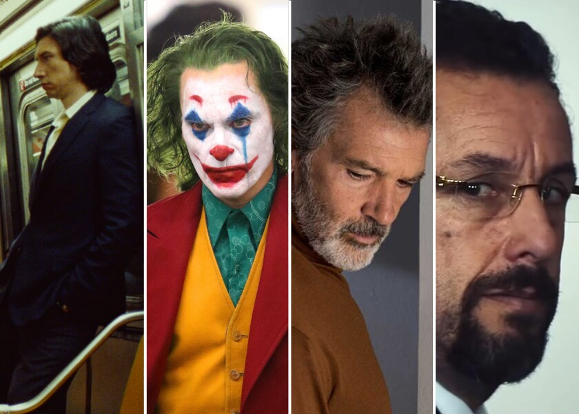 Four of our Buzzmeter panel's early picks for top contenders in the lead-actor Oscar race