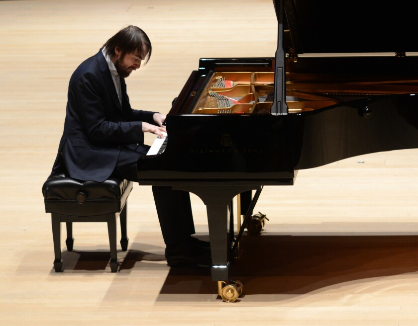"""Daniil Trifonov performs Bach's """"The Art of the Fugue"""" on Sunday at Soka in Aliso Viejo."""
