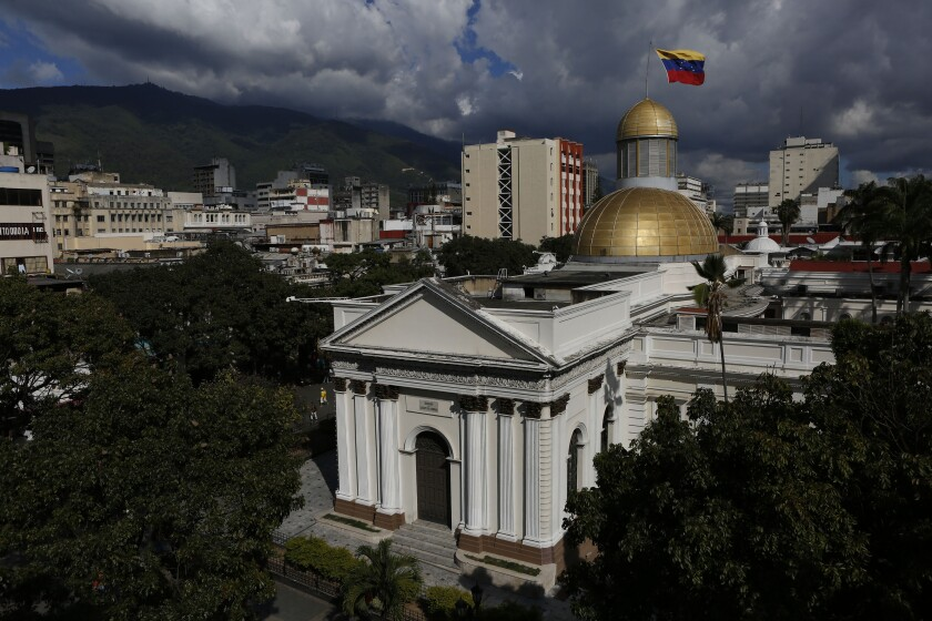 Virus Outbreak Venezuela Lawmaker's Salaries
