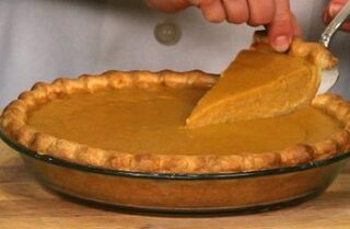 Making a Pumpkin Pie